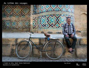 tony au rythme des voyages homme au vélo boukhara ouzbékistan